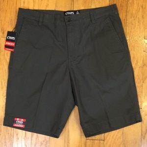Chaps Men's Size 32 Gray Bermuda Shorts NEW